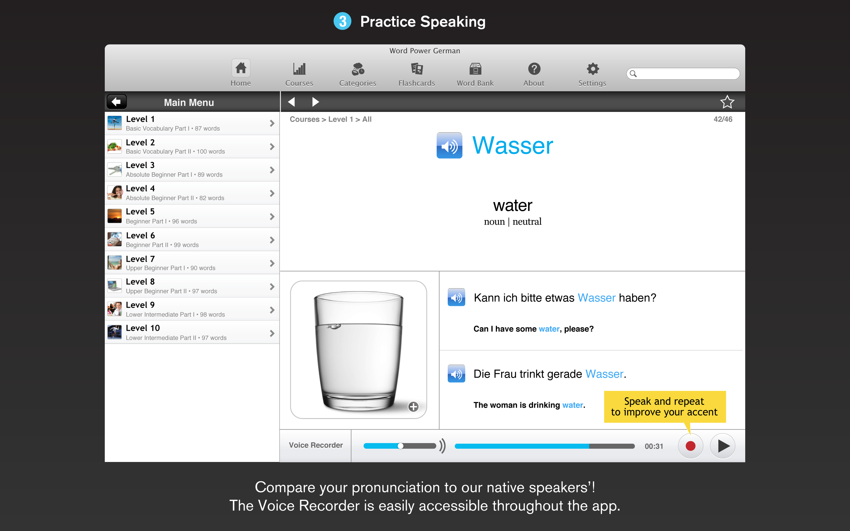 WordPower German for the Mac